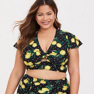 Torrid Lemon Bikini Top